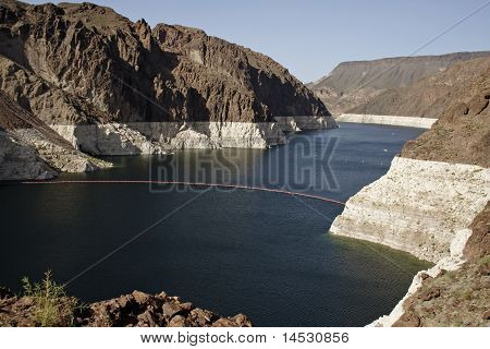 Lake Mead At Hoover Dam