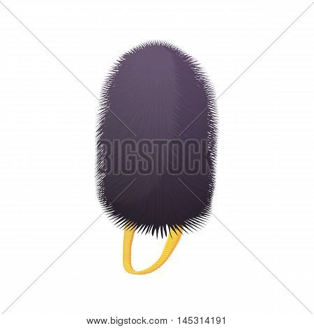 Hat british guards icon in cartoon style isolated on white background. Headdress symbol