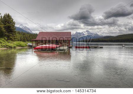 Maligne Lake - Jasper National Park, Alberta, Canada