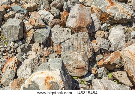 Scattered Stones Texture, Pile Of Rocks Boulders