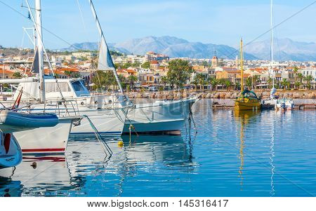 The Greek resort of Rethymno is the nice place to spend vacation and enjoy the yacht trips to another cities and beaches of Crete Greece.