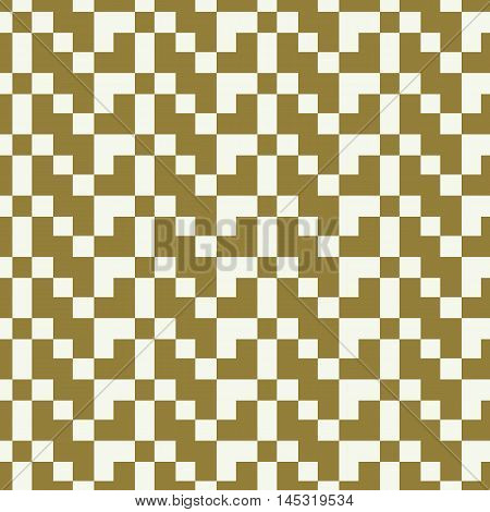 Graphic simple ornamental tile vector repeated pattern made using geometric figures.