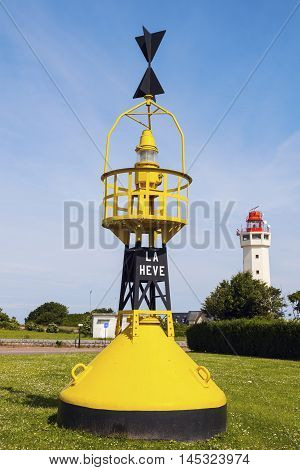 Le Havre Lighthouse. Le Havre Normandy France