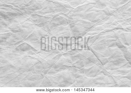 Rough Paper Background Old Creased White Wrinkled Texture