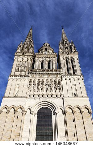 Angers Cathedral. Angers Pays de la Loire France