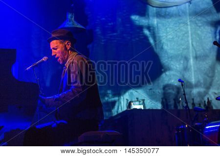 St.PETERSBURG, RUSSIA - AUG 31, 2016: Performance of