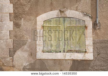 Ancient Wooden Window