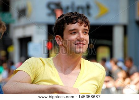 New York City - June 28 2009: Actor Michael Urie from TV's