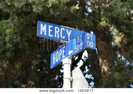 Where Hope And Mercy Intersect