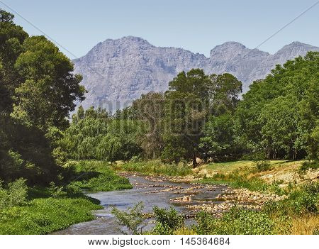 The Berg River, Paarl, Western Cape South Africa 01a