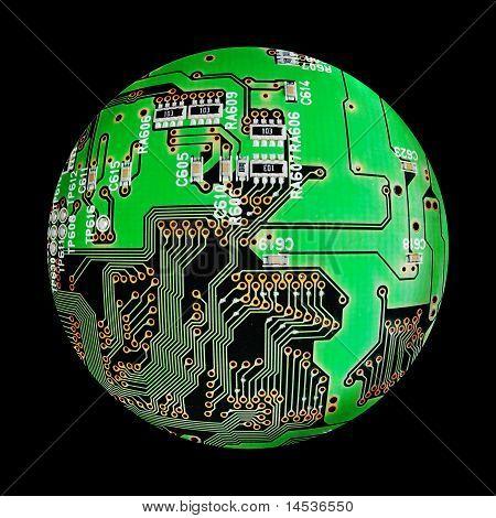 Electronic Globe