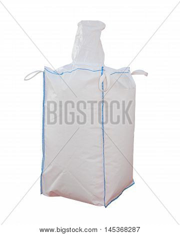Big Bulk Bag Isolated Included Clipping Path