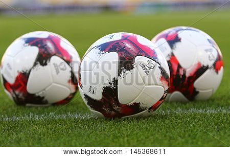 Official Match Balls Of Fifa World Cup 2018