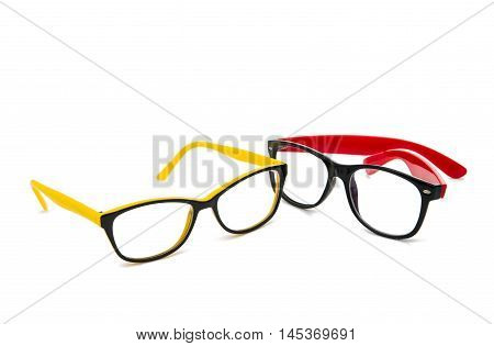 glasses intelligent fashion on a white background
