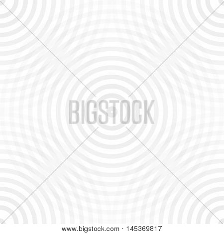 Seamless pattern with repetition geometric circular shapes. Light abstract background in square format. Old retro vintage style. Vector illustration clip-art graphic design element save in 10 eps