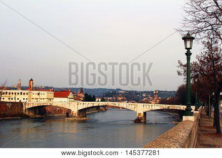 City View Of Verona, Italy