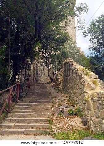 Castiglione del Lago, Fortress of the Lion, Umbria, central Italy