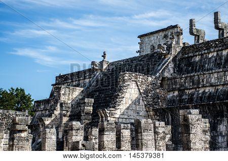 Mexico maya yucatan Chichen Itza ruins 4