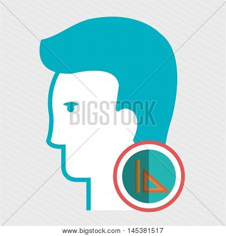silhouette rule icon vector illustration icon eps 10