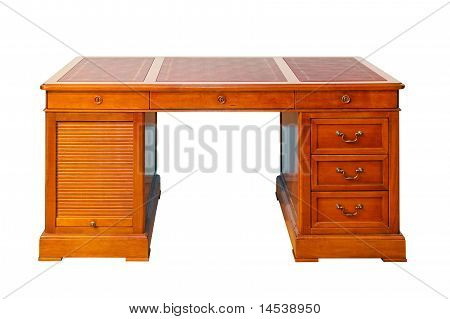 Desk Isolated
