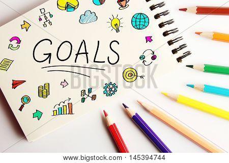 Goals Business Concept