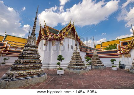 Wat Pho Temple, Famous visit place in Bangkok, Thailand.
