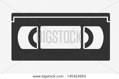 Vhs Tape Flat Icon