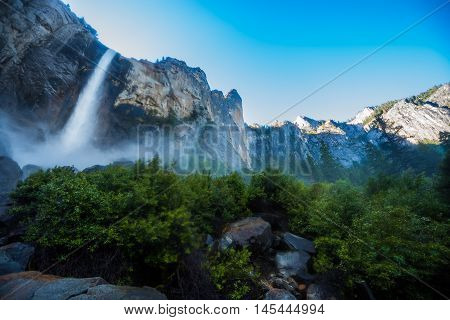 Bidalveil Falls Yosemite National Park