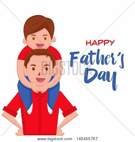 Happy Father's Day Card - Happy Moment