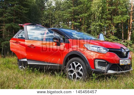 New Renault Kaptur With Open Doors