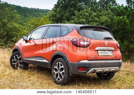 Rear View Of Renault Kaptur