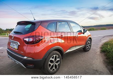 Renault Kaptur On Highway