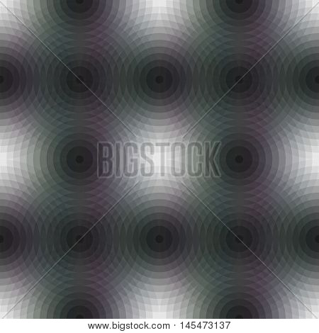 Seamless pattern background with repetition geometric circular shapes in square format. Old retro vintage style. Vector illustration clip-art graphic design element save in 10 eps