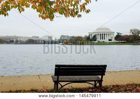 Washington D.C. in Autumn - Jefferson Memorial