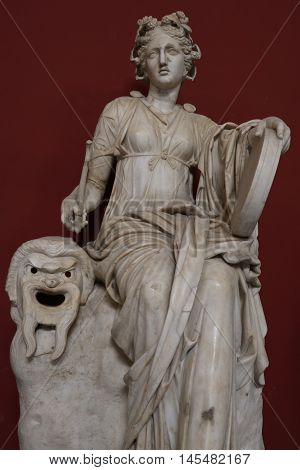 Antique statue in the Vatican museums, Vatican City