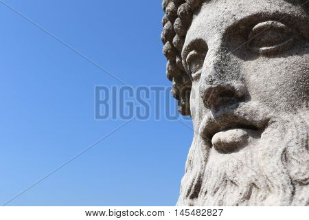 Statue at the villa Medici in Rome