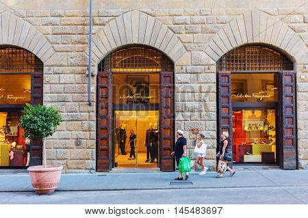 Salvatore Ferragamo Shop In Florence