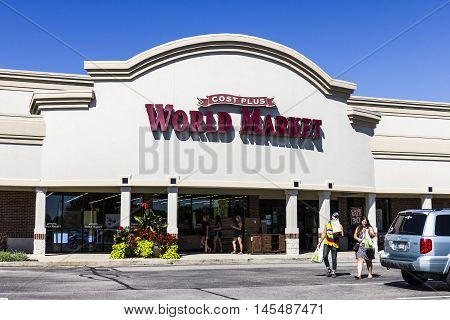 Indianapolis - Circa September 2016: Cost Plus World Market Retail Location. Cost Plus, Inc. Imports