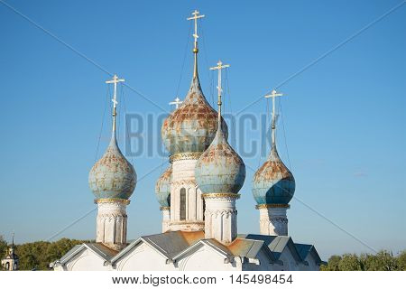 The dome of the old Orthodox church