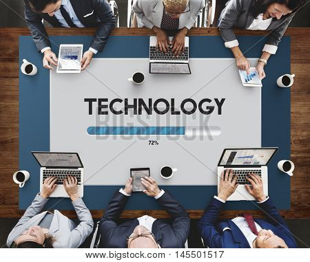 Network Software Upgrade Technology Concept