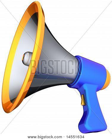 Megaphone calling
