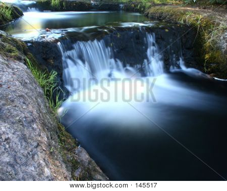 Creek In Dark Cool Color