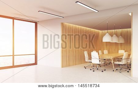 Conference Rooms And Panoramic Window