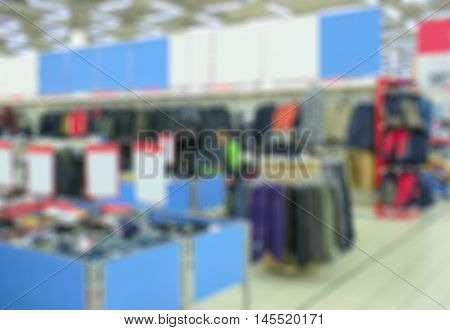 Supermarket Blur Background