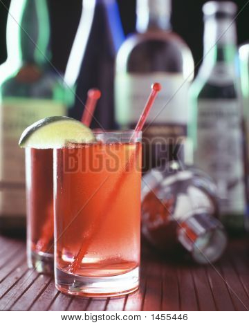 Cranberry And Vodka Cocktail