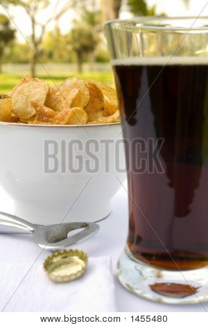 Dark Beer & Potatoes Chips