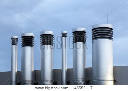 Pipes of heating and air condition system