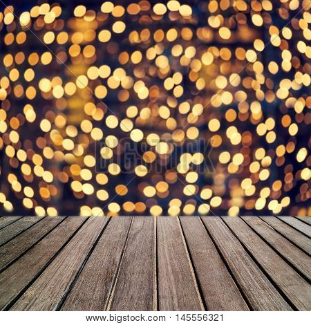 Abstract bright blur sparkle and glittering shine bubble lights background. Blurry sparkle glitter concept. Defocused banner template design festival backdrop with shining bokeh