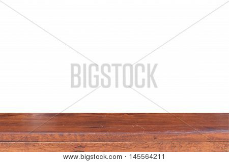 Empty Wooden table Wooden table texture background