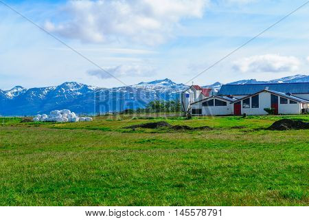 Countryside In Iceland